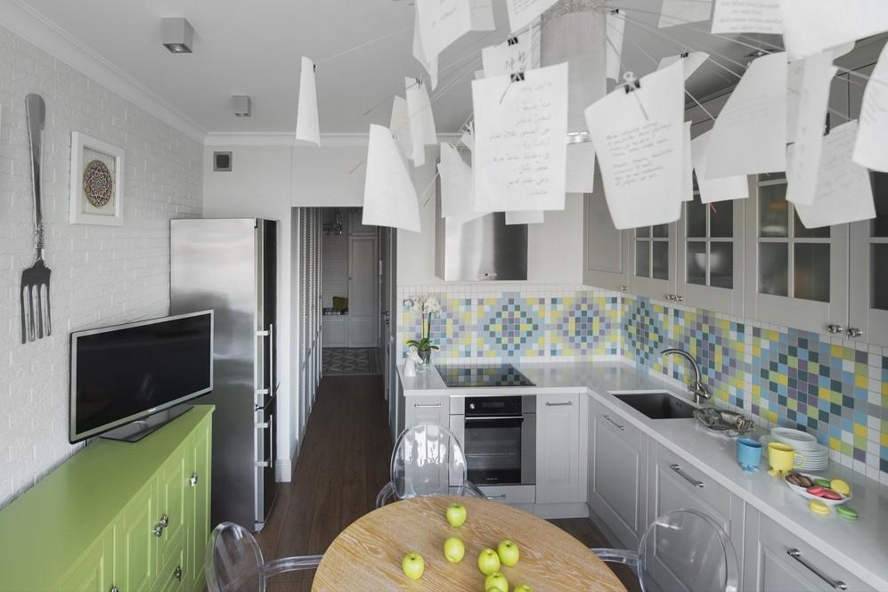 Дизайн кухни 8 квм в панельном доме серии п44.