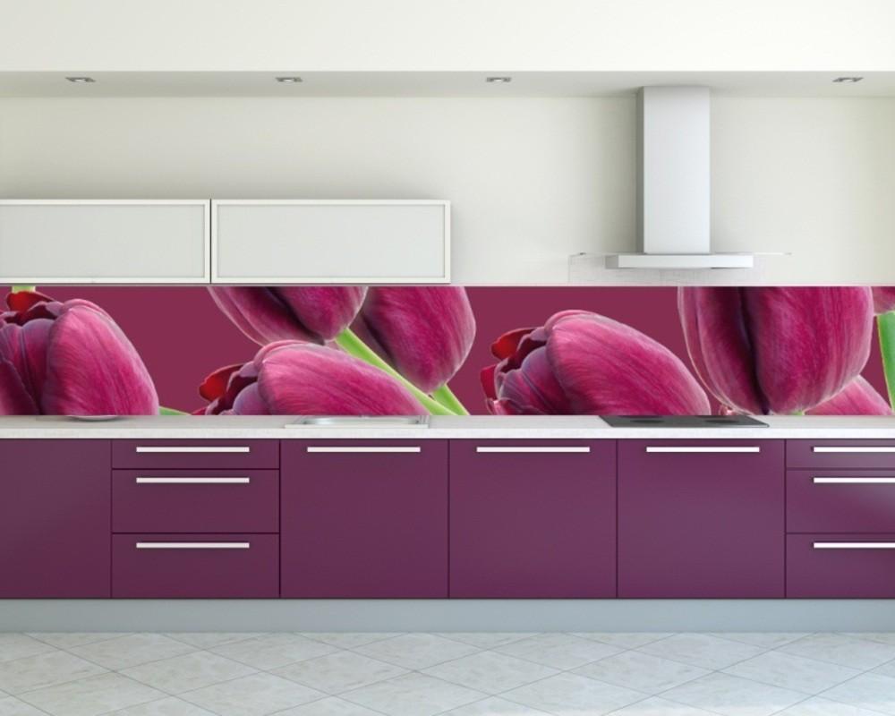 Лиловая кухня фото