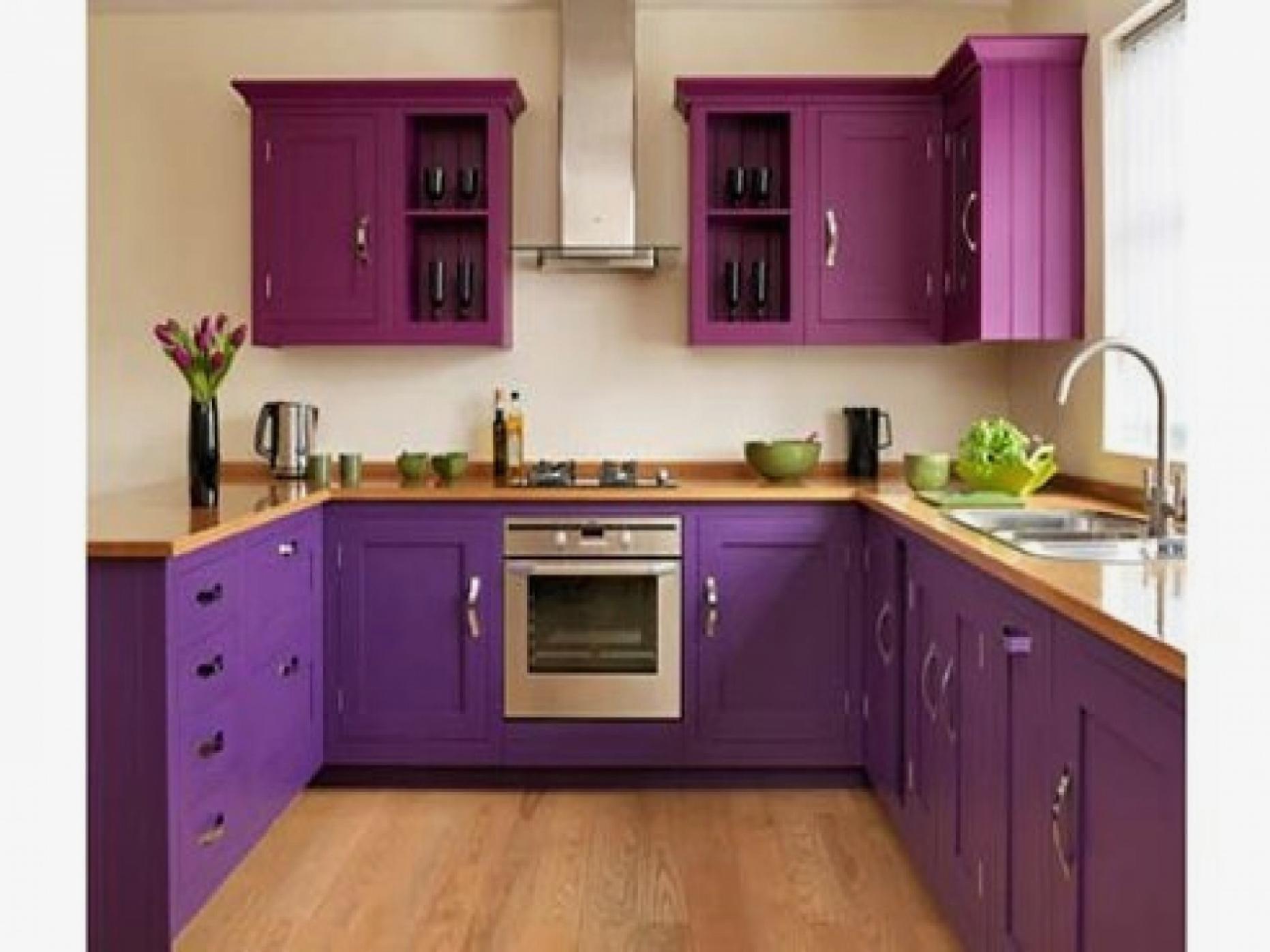 Цветная кухня дизайн