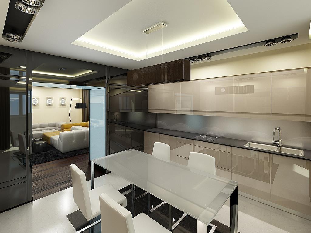 Кухни хайтек дизайн