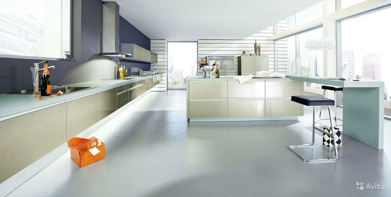 Дизайн кухни в стиле хайтек от зарубежных дизайнеров