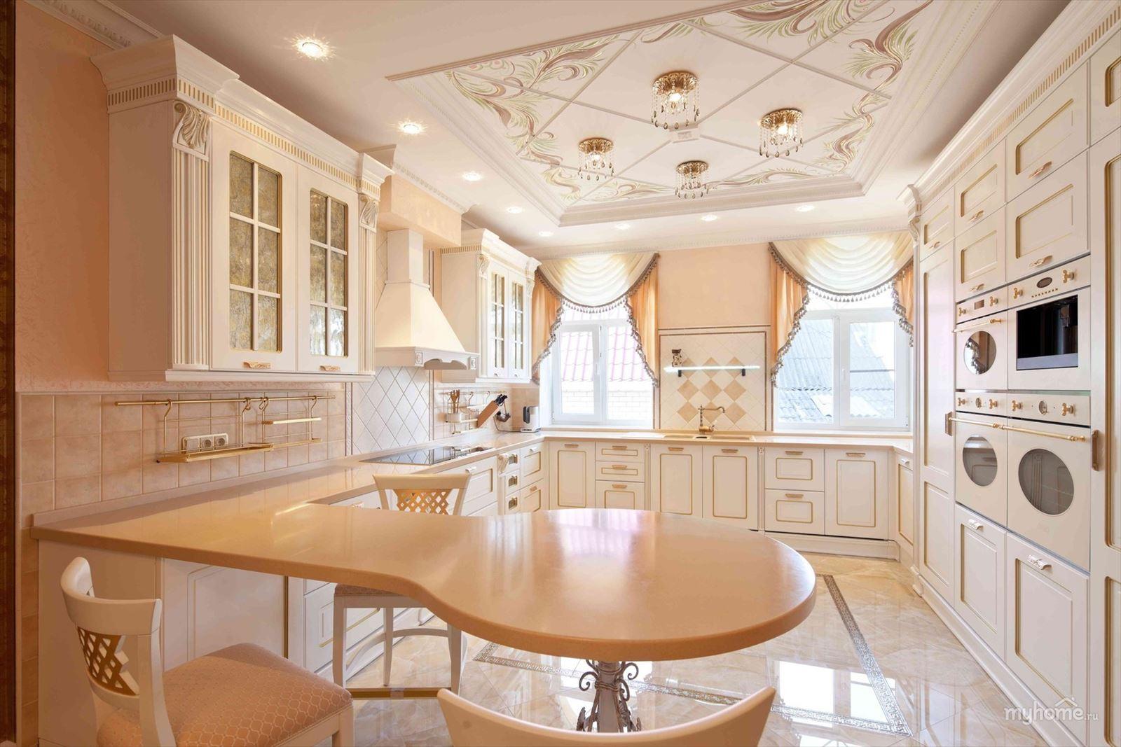 Самые красивые кухни в интерьере фото