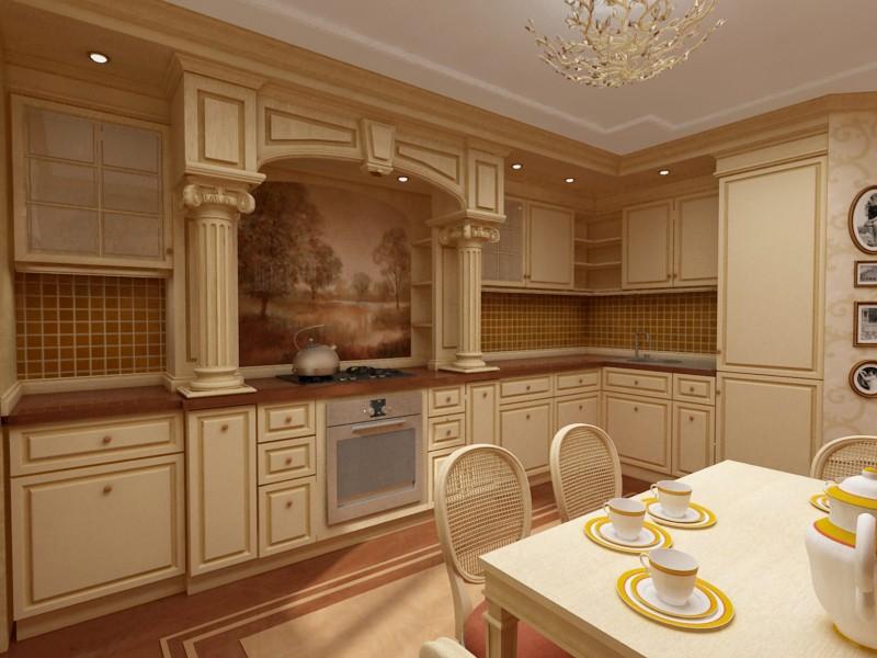 Мебель кухни королев
