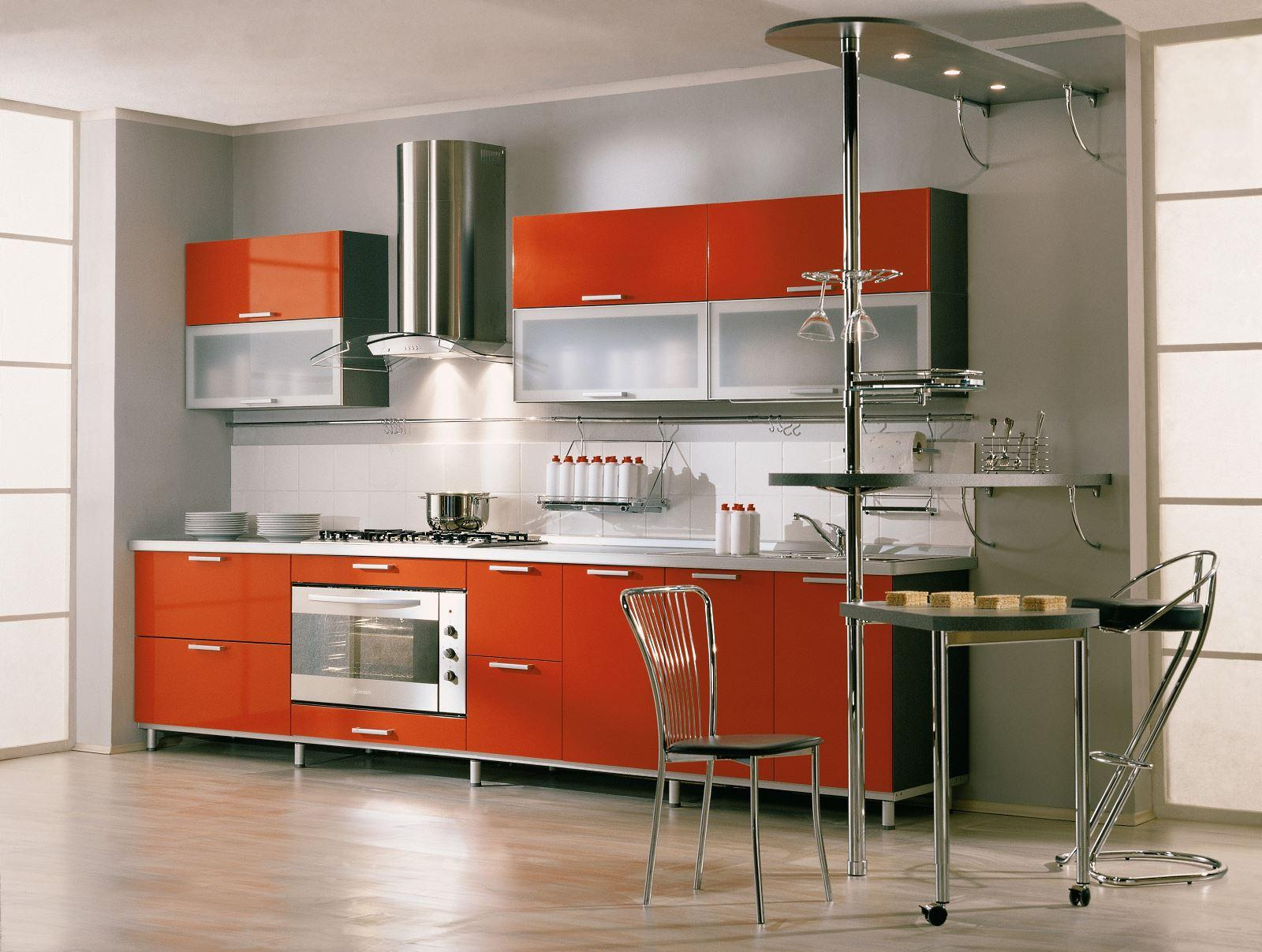 Фото интересных дизайнов кухонных гарнитуров