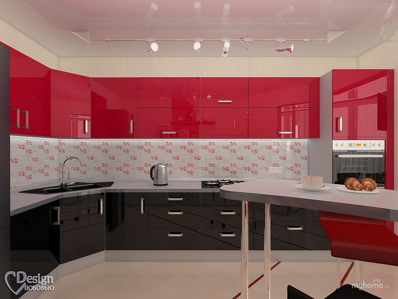 Фото простого интерьера кухни
