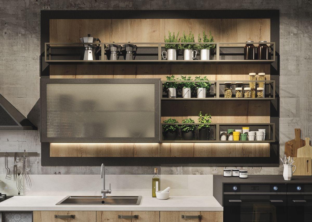 Кухонная мебель в стиле лофт своими руками 44
