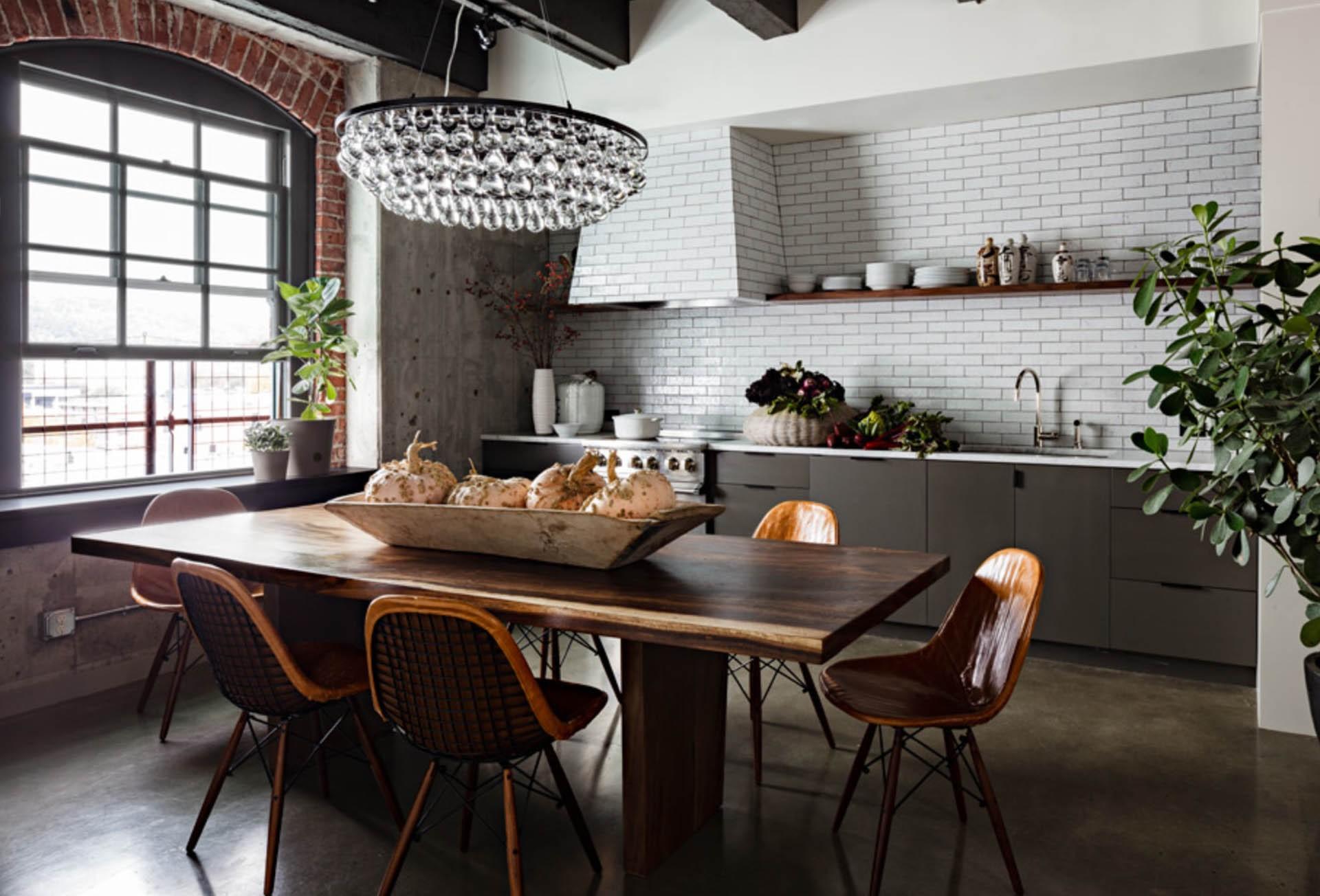Lessentiel dune cuisine de style loft  Diaporama Photo