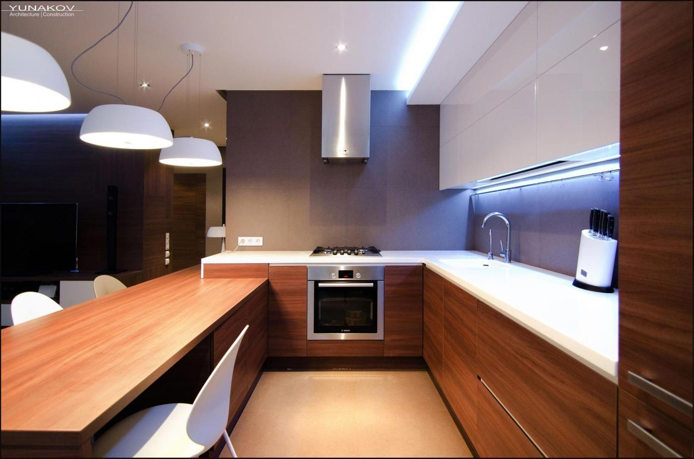 Кухни дизайн минимализм