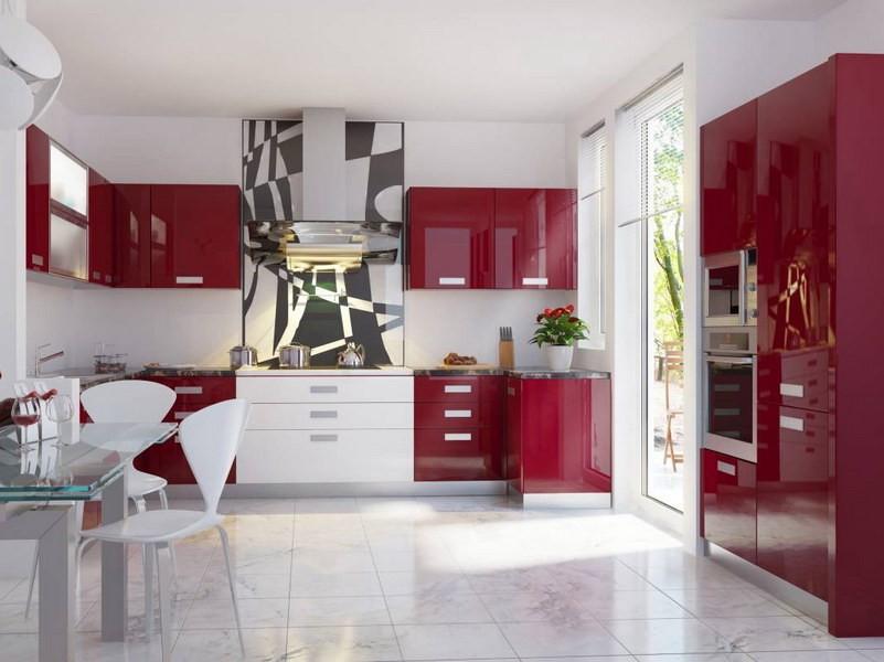 Галерея кухонь в стиле модерн часть 4