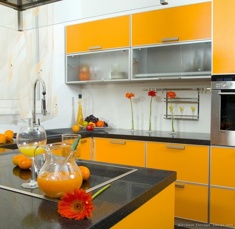 Gorgeous Ideas Orange Kitchen Kitchens Mobalpa Design