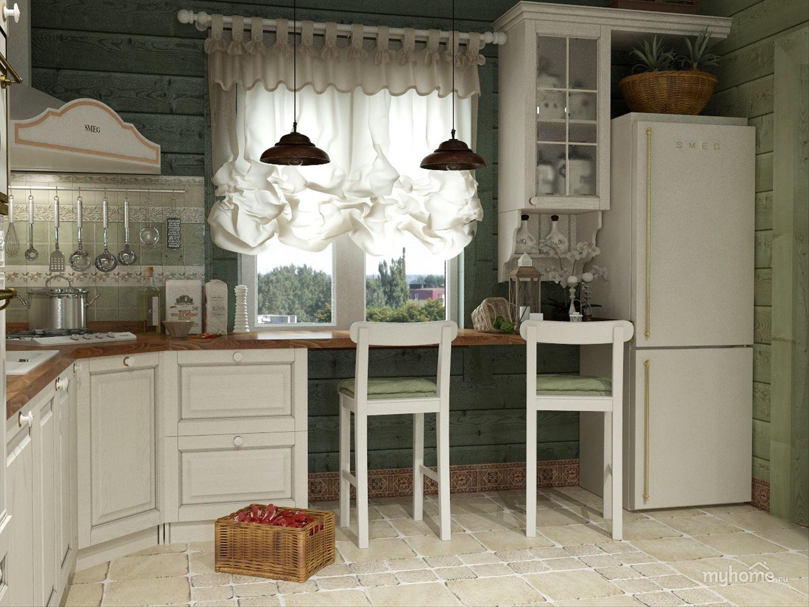 Кухня в стиле прованс фото интерьер своими руками