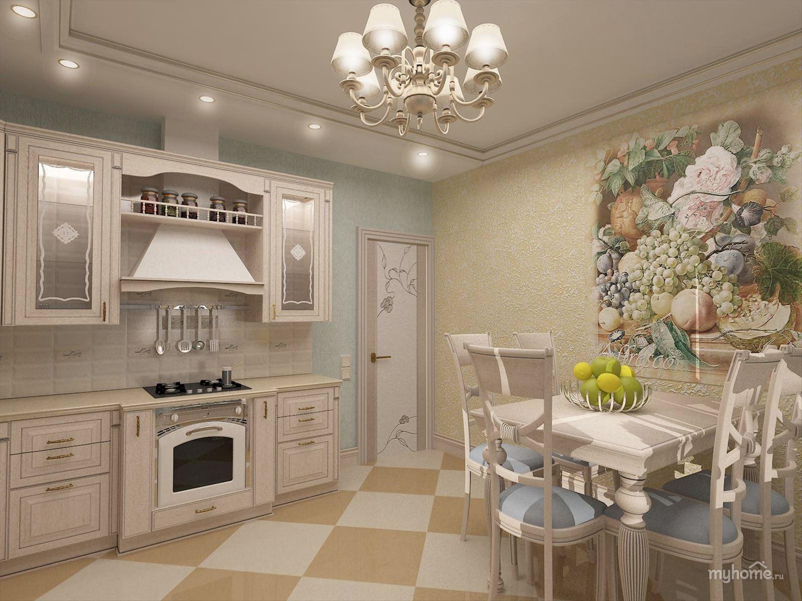 Кухня в стиле прованс в интерьере фото