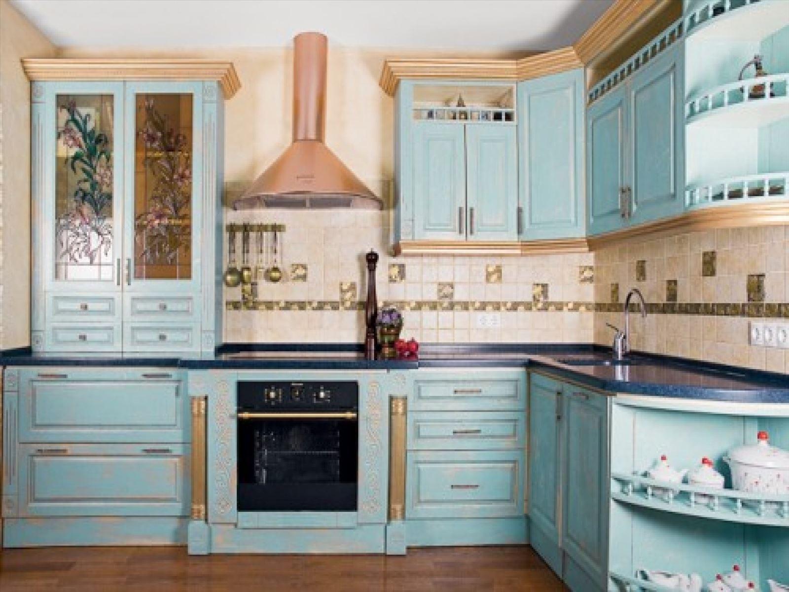Кухня в стиле прованс своими руками фото