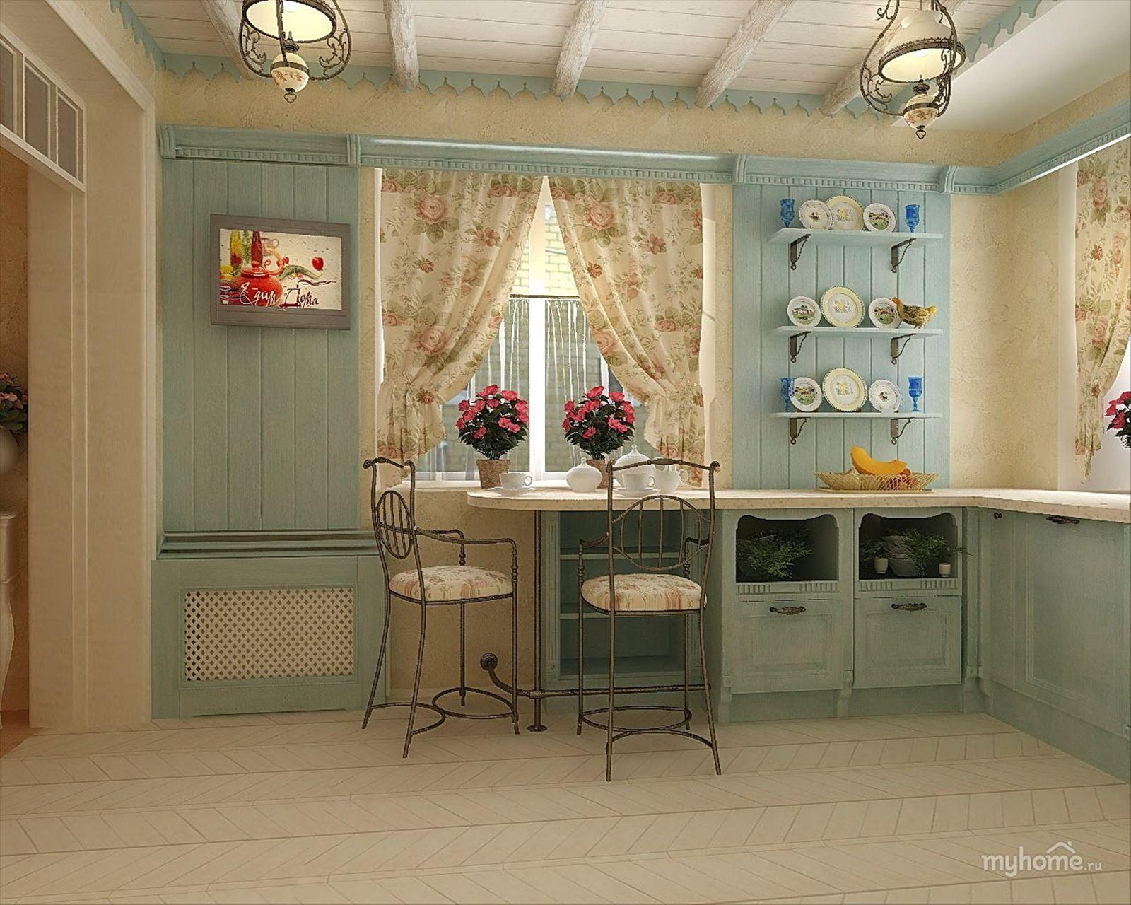 Кухня в стили прованс своими руками