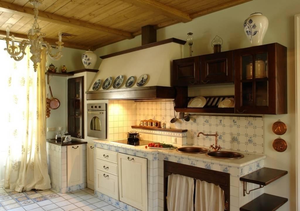 Деревенские кухни фото