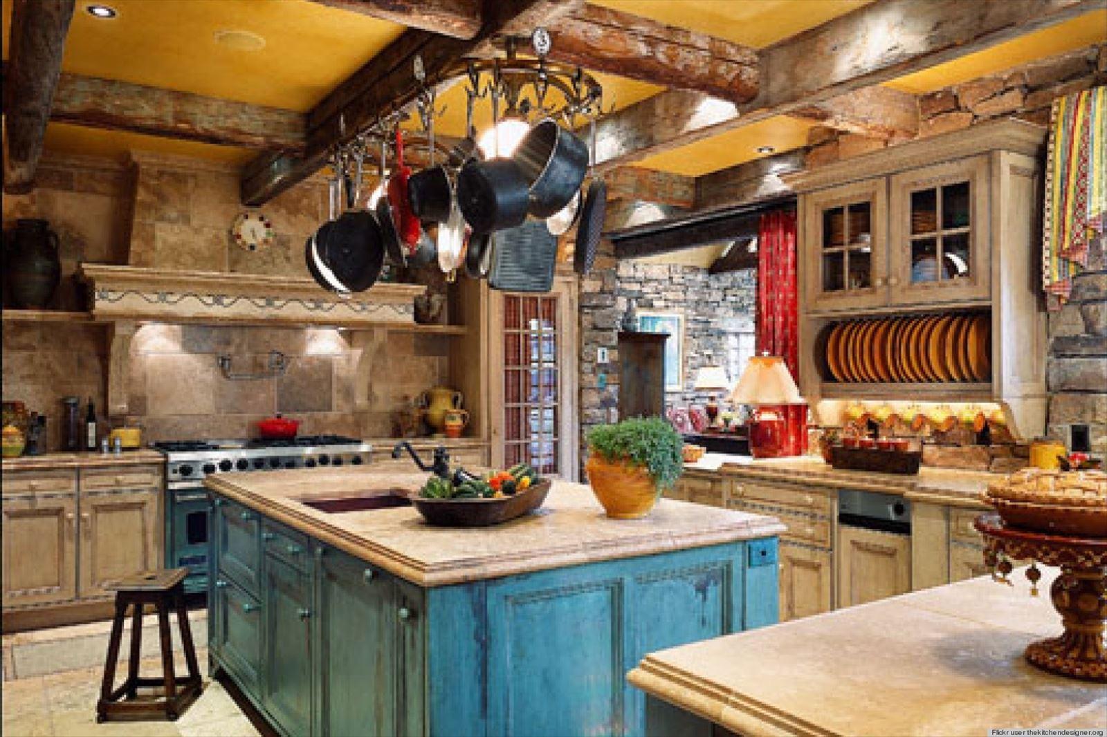 Французский интерьер фото кухни