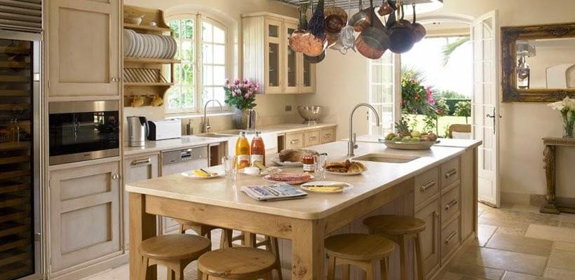 Стиль прованс в интерьере кухни фото своими руками