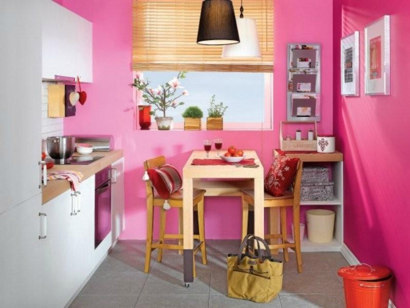 Как покрасить кухню разными цветами