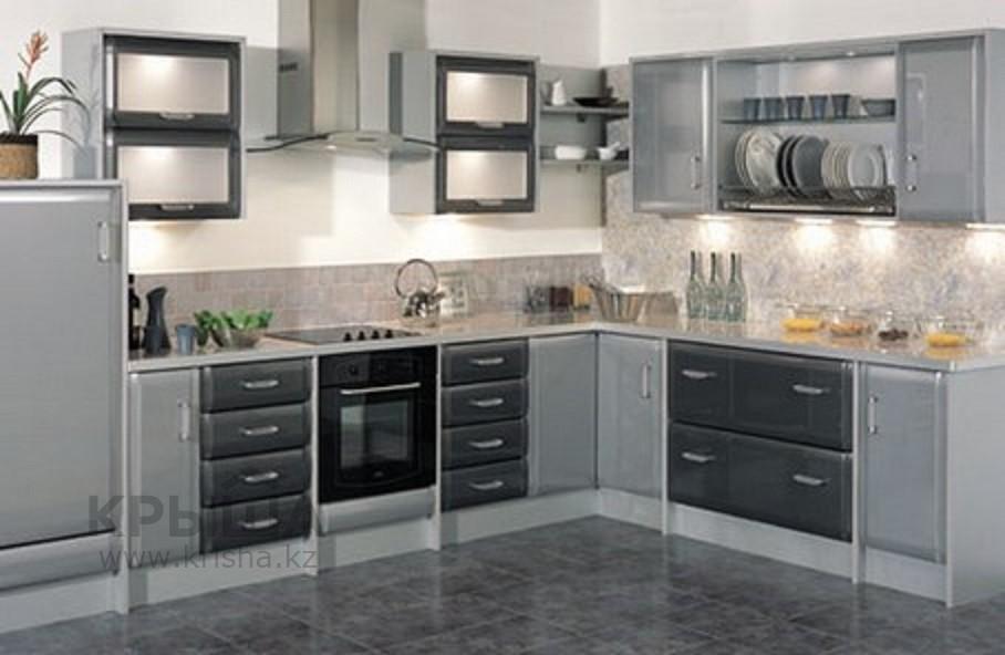 Кухни серого цвета фото