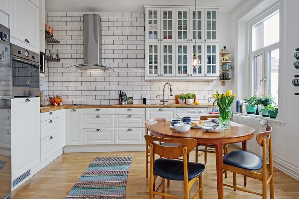 положительные кухня-гостиная в скандинавском стиле фото должны