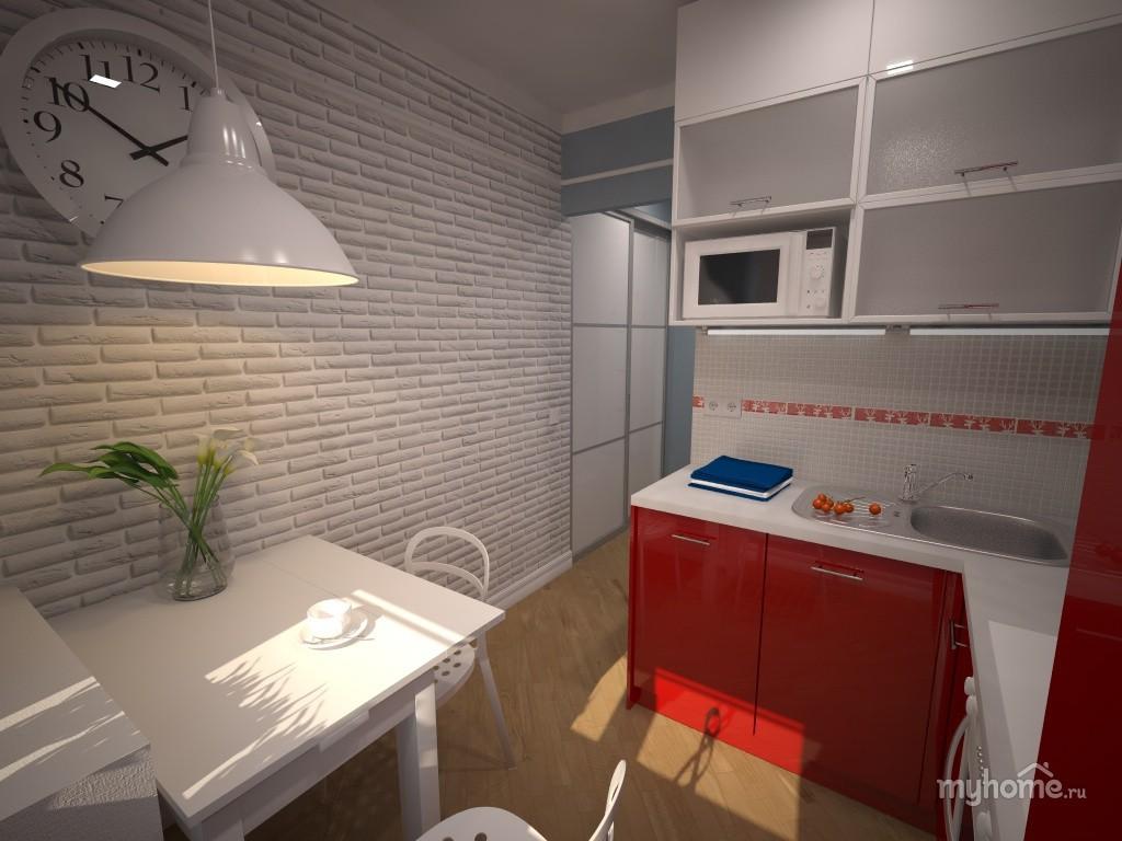 Белая кухня хрущевка дизайн