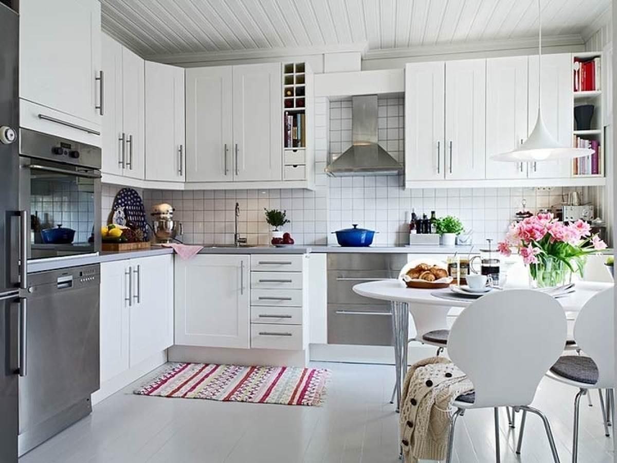 Кухня скандинавский дизайн