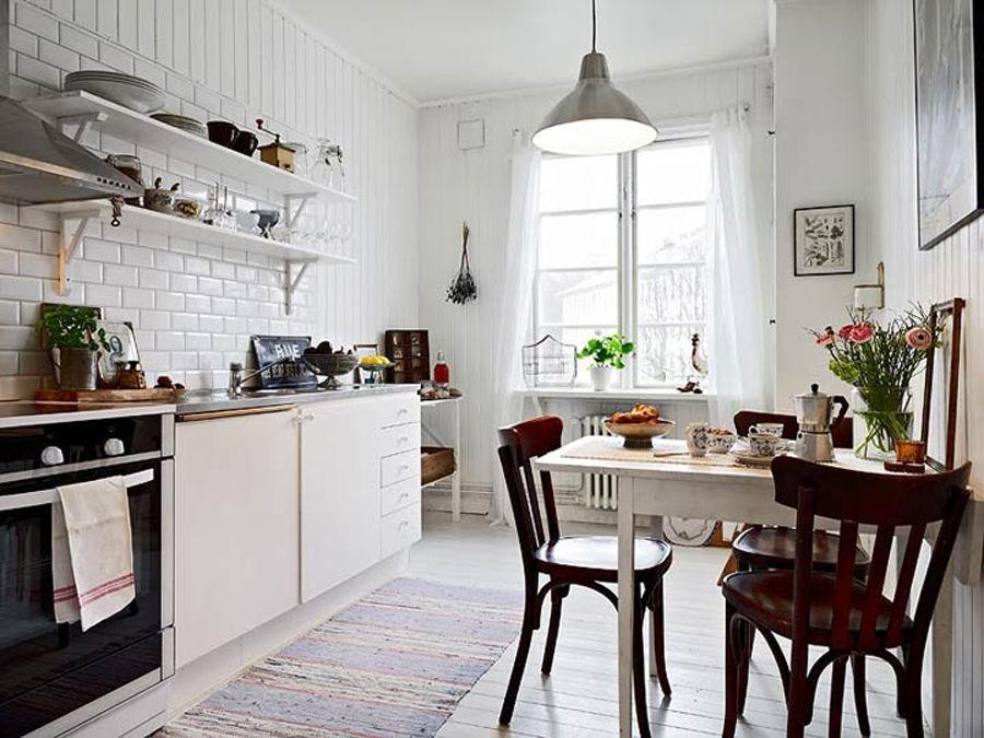 Кухня скандинавский стиль в интерьере