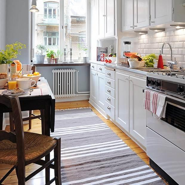 Ковер на кухню фото