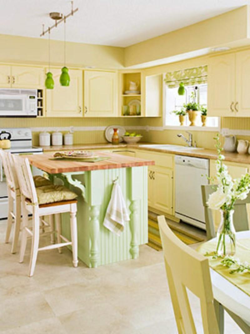 Enchanting Yellow Kitchen Walls Decorating Ideas - plusarquitectura.info
