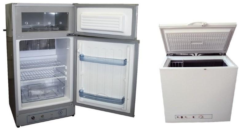 Газовые холодильники Exmork