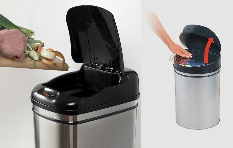 Сенсорное ведро для мусора