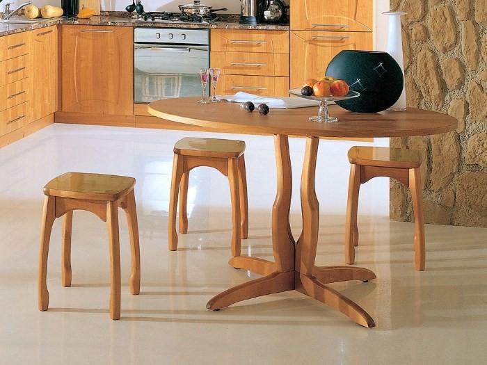 Деревянный стол для кухни своими руками фото 10