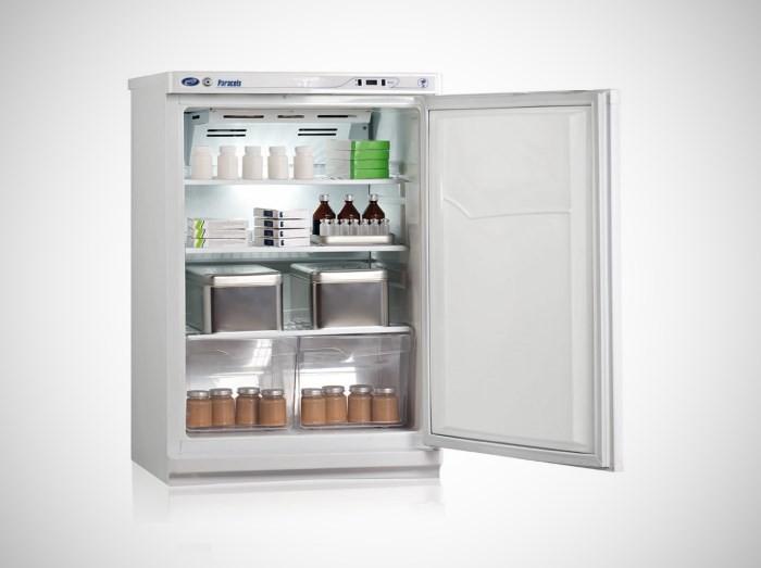 Фармацевтический холодильник с замком