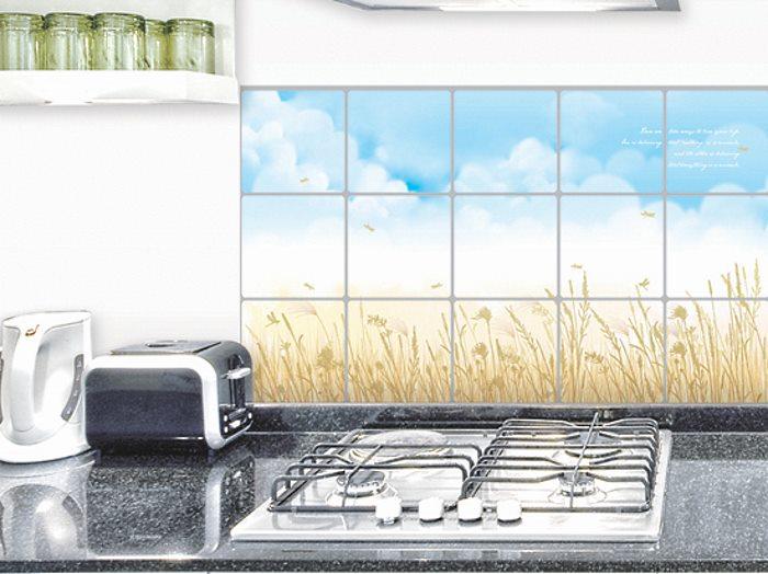 Наклейки на плитку для кухни