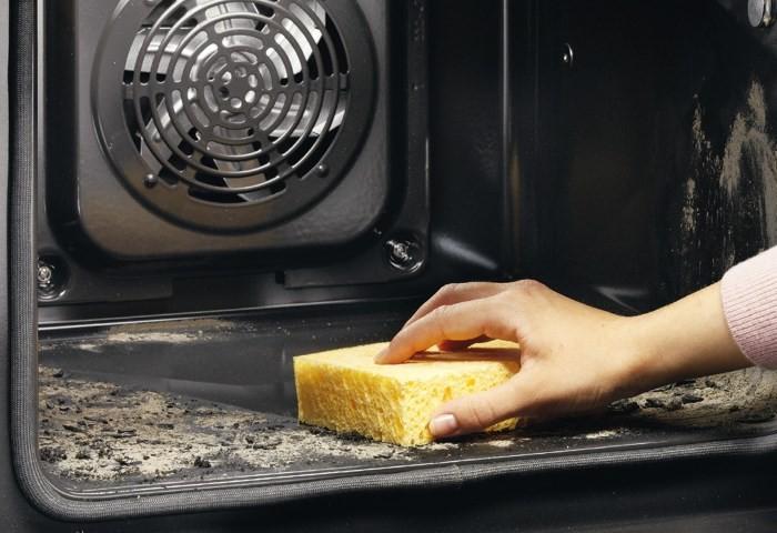Очищение духовки