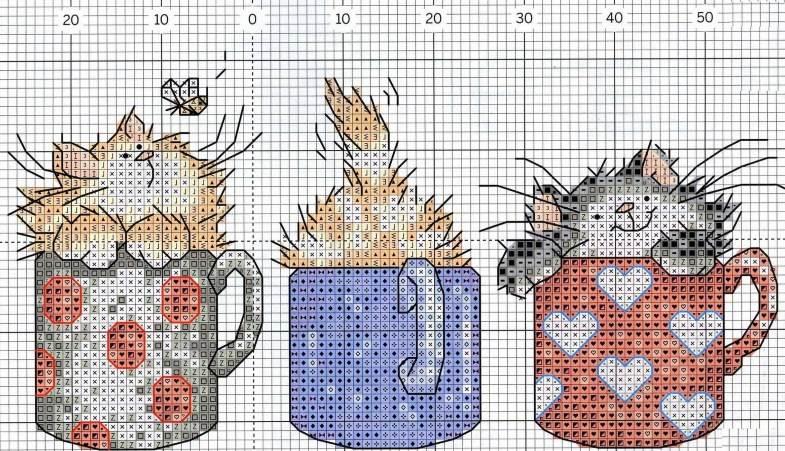Схема для вышивки крестиком