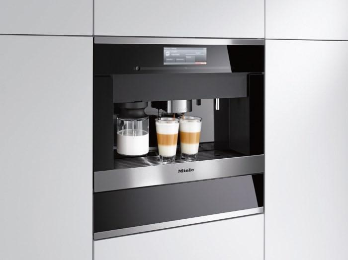 Встраиваемая кофемашина Miele
