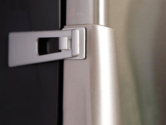 Как сделать замок для холодильника 758