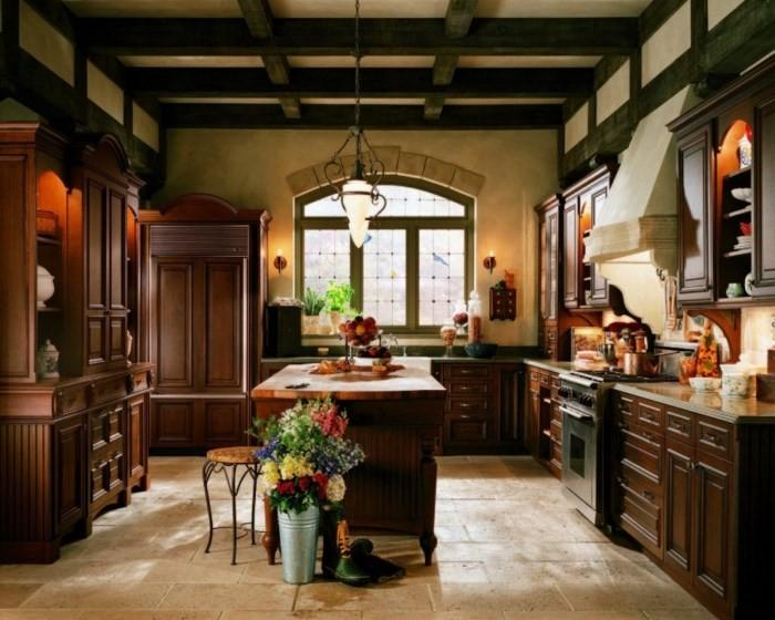 Английский дизайн кухни