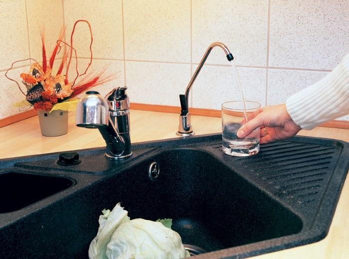Кран для чистой воды
