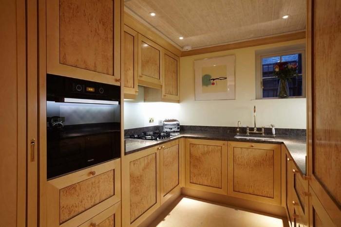 Кухня 12 кв в стиле бидермейер