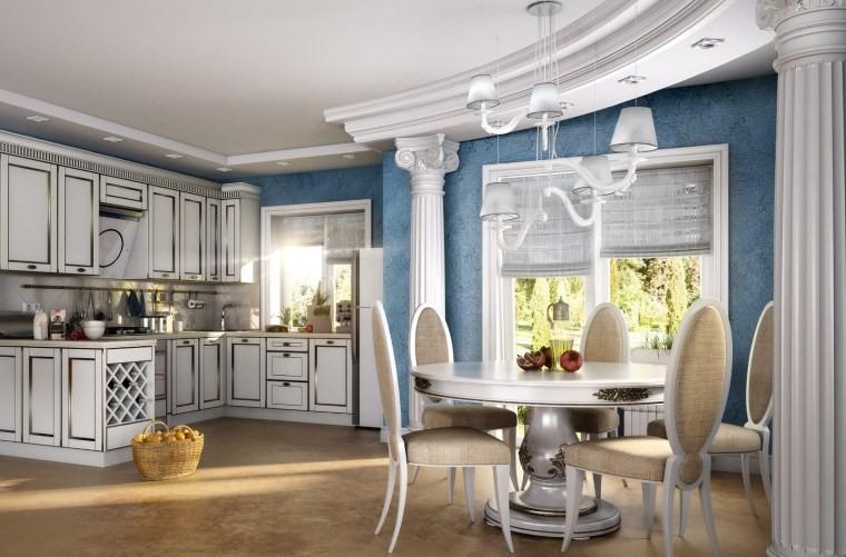 Кухня в греческом стиле