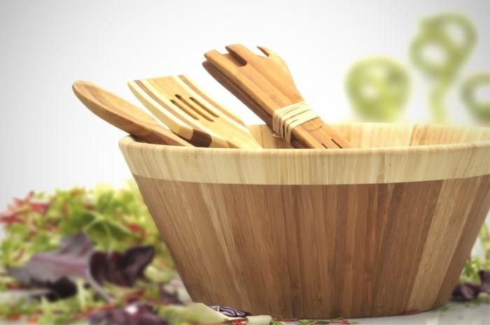 Посуда из бамбука