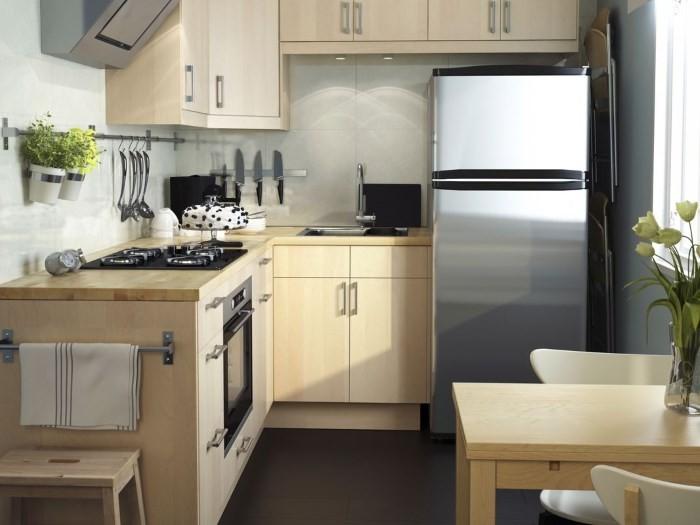 Кухня семь кв метров