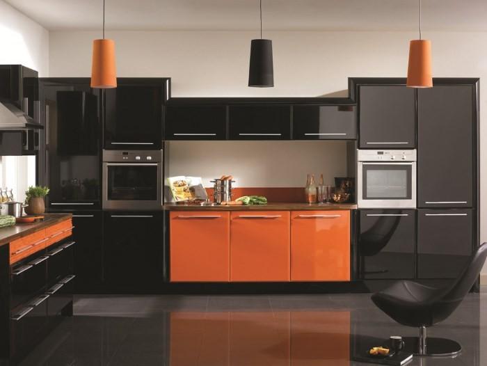 Мебель на кухне из акрила