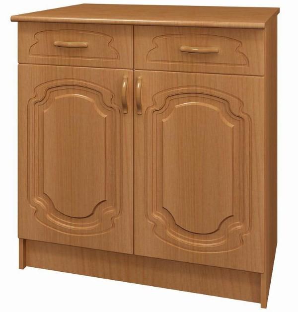 Прямой напольный шкаф
