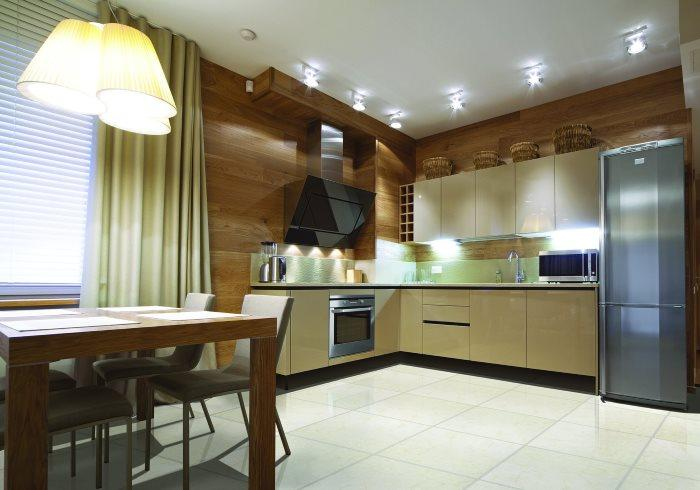 Вариант дизайна кухни