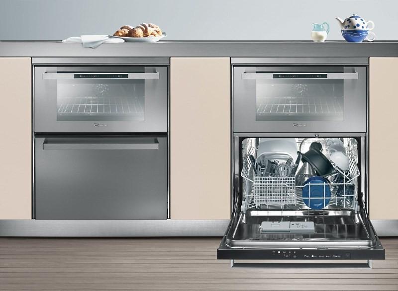 плита с посудомоечной машиной