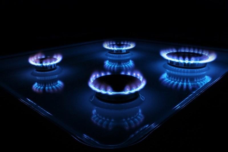 Горящие конфорки газовой плиты