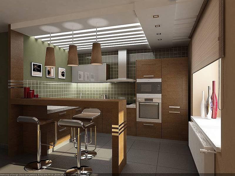 Кухня из кирпича своими руками в квартире фото 937